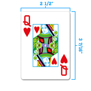 Copag 1546 Neoteric Poker Size Jumbo Index Playing Cards (Green Red)