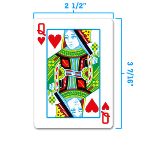 Copag 1546 Neoteric Poker Size Regular Index Playing Cards (Green Red)
