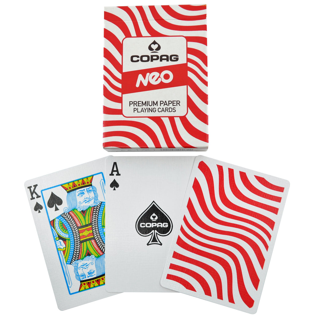 Copag 310 NEO Waves Poker Size Regular Index Paper Single Deck