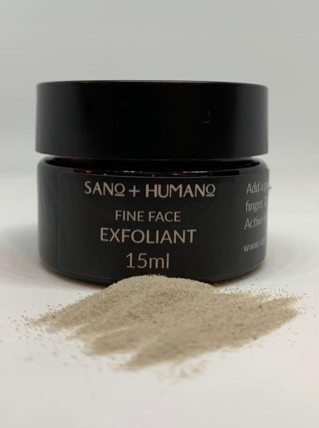 Fine Face Exfoliant Volcanic Powder