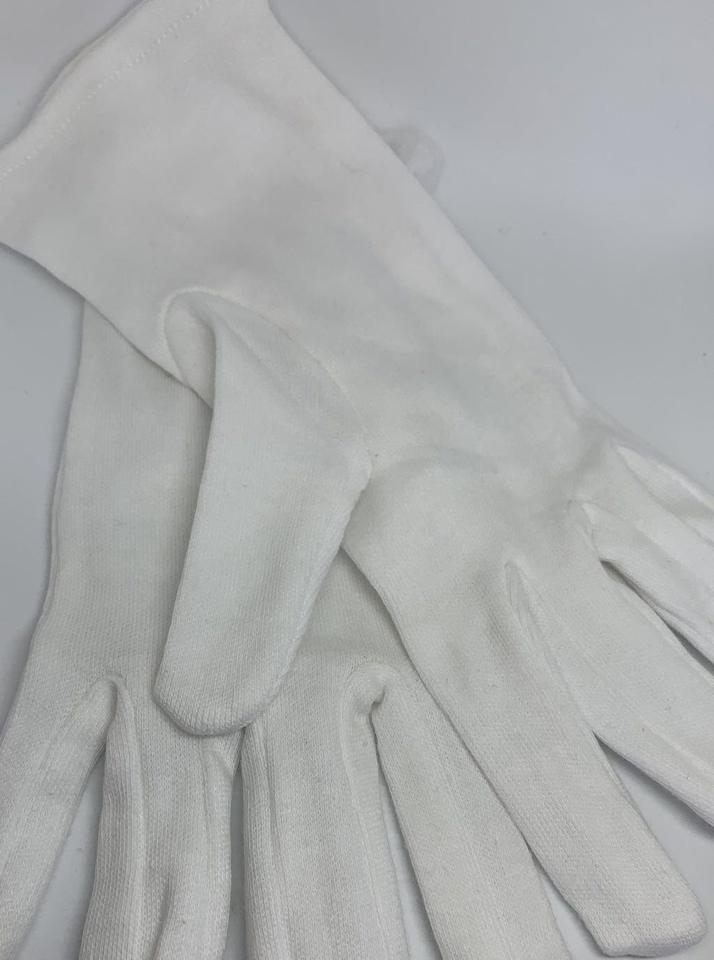 100% Organic Cotton Gloves for intensive skin treatment + protection