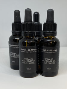 Organic Cold Pressed Almond Oil - Premium Grade