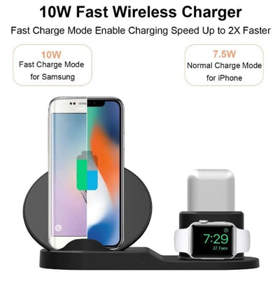 3 IN 1 WIRELESS CHARGING STAND