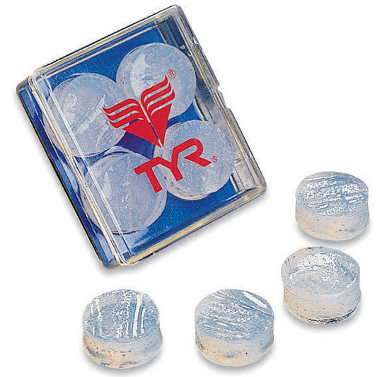 TYR Moldable Soft Silicone Ear Plugs