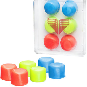 TYR Youth (COLORED) Moldable Soft Silicone Ear Plugs