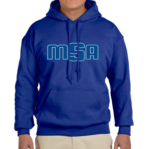 NEW! - MSA Hoodie (Screen Printed) - Royal