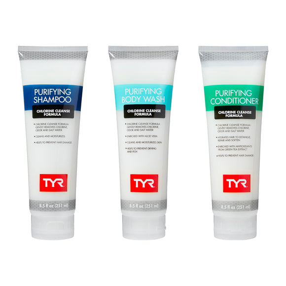 TYR Shampoo, Conditioner, Body Wash Bundle (25% OFF)