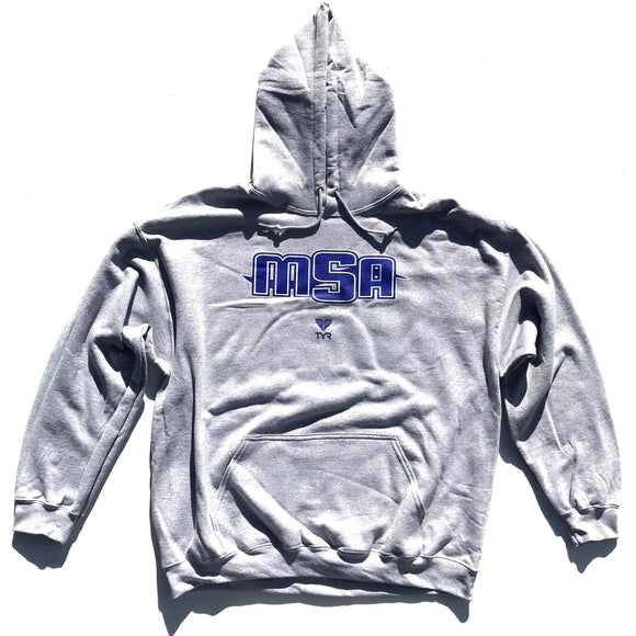 MSA Hooded Sweatshirt (Sport Grey w/MSA logo)