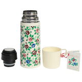 Rambling Rose Flask and Cup