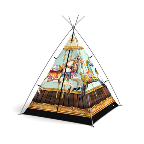 FieldCandy Little Campers Teepees - Hold your Horses