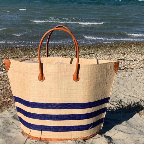 Navy Bato Marine Beach Basket