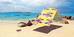 Field Candy Sun Shade - Rock Lobster Yellow
