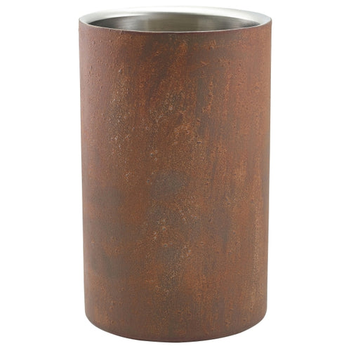 Rust Effect Wine Cooler