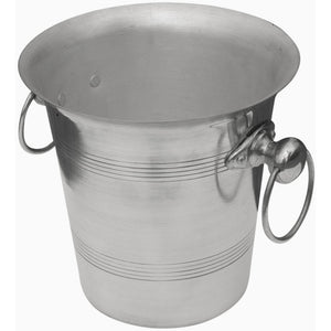 Aluminium Champagne Bucket with Rings