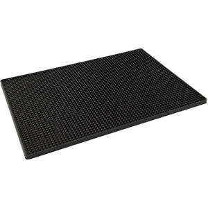 450x300mm Black Rubber Bar Mat