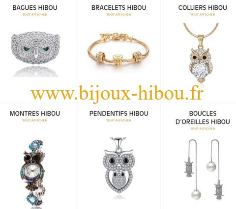 photo collections boutique bijoux hibou