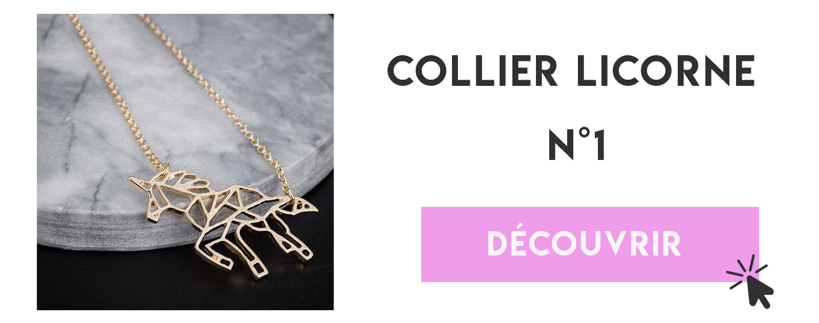 top 1 collier licorne