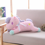 la plus belle Peluche Licorne Rose