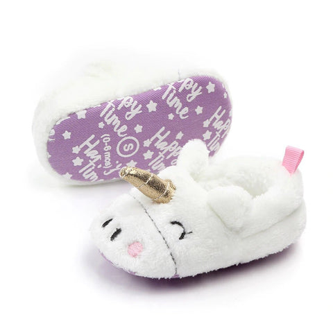 chausson licorne taille bebe