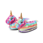 chaussons confortable motif licorne folle