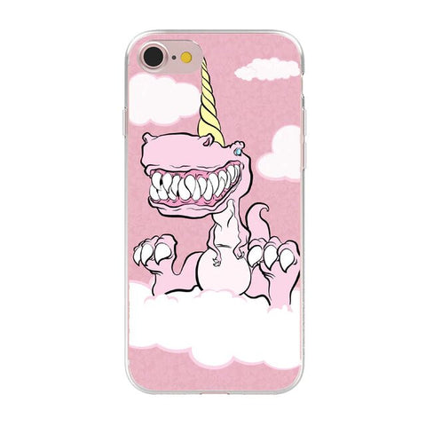 coque licorne dinosaure iphone