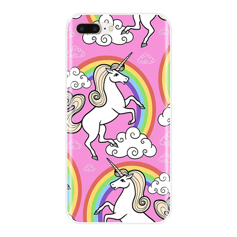 Coque iPhone Licorne 2D