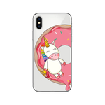 Coque iPhone Licorne Donut