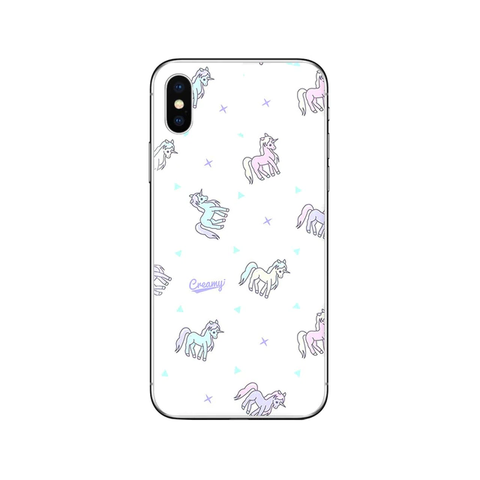 Coque iPhone Logo Licorne