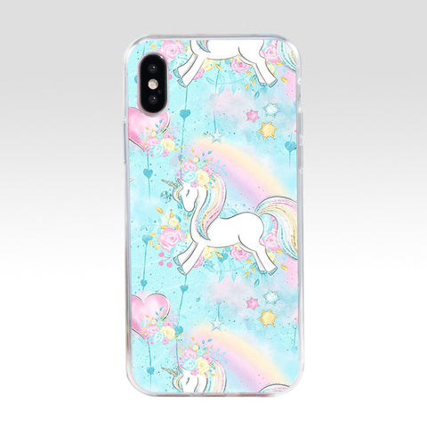 Coque iPhone Princesse Licorne