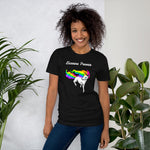T-shirt Licorne Power Multicolore - monde-licorne