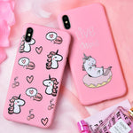 "Coque Licorne Iphone ""Love"" - monde-licorne"