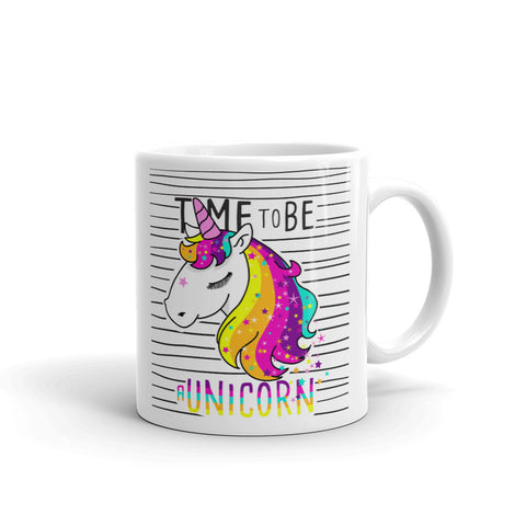 "Tasse Licorne ""Time to be UNICORN"""