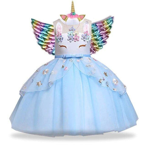 robe licorne fille taille 5 ans