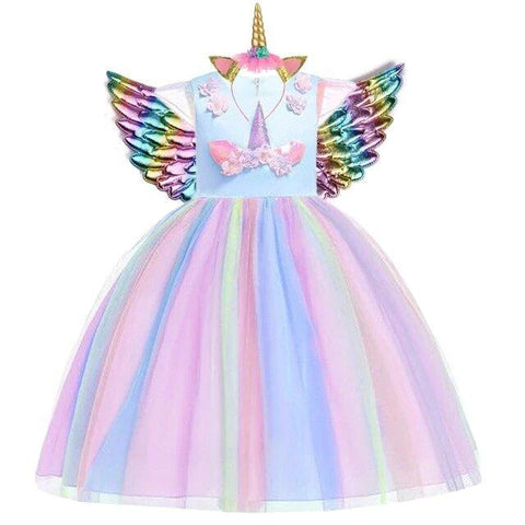 robe licorne fille taille 6 ans