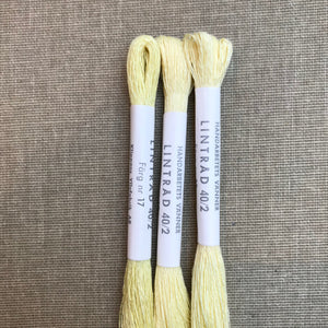 HV-linen No. 17 Pale Yellow 40/2