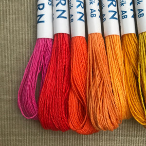 Neon - embroidery linen threads
