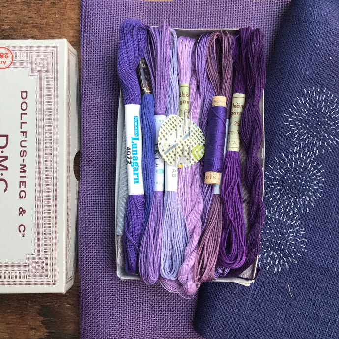 Mini Purple - Lyster Thread Collection
