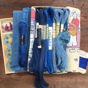 Indigo Treasure Box #31
