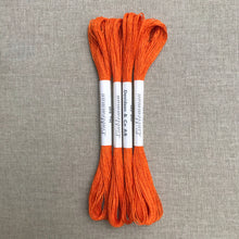 Load image into Gallery viewer, The Flax Flower 1960's linen - Linblomman 16/2 Neon Orange #849