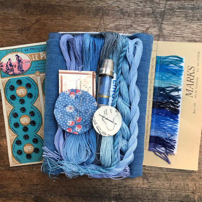 Indigo Treasure Box #3
