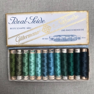 Vintage Gutermann Silk - 12 spools in original box