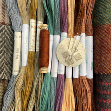 Load image into Gallery viewer, Linen, Tweed & vintage silk set #2