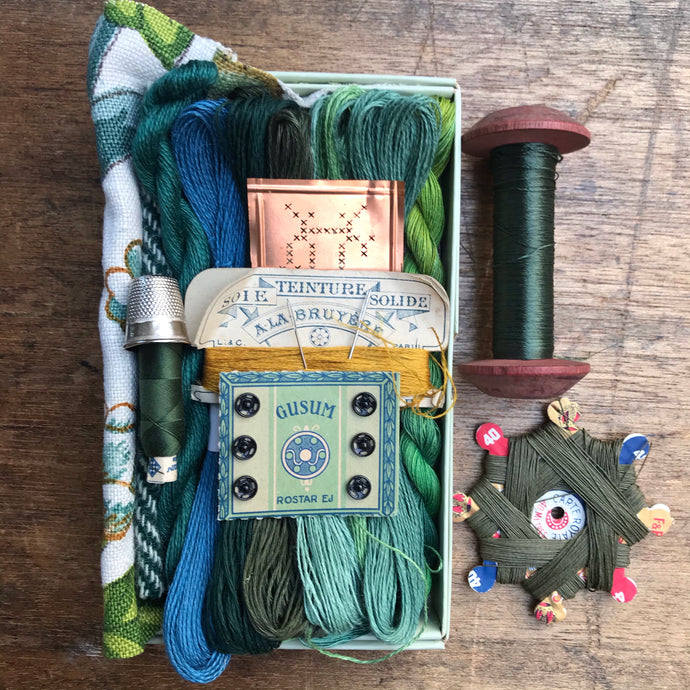Green Treasure Box #7