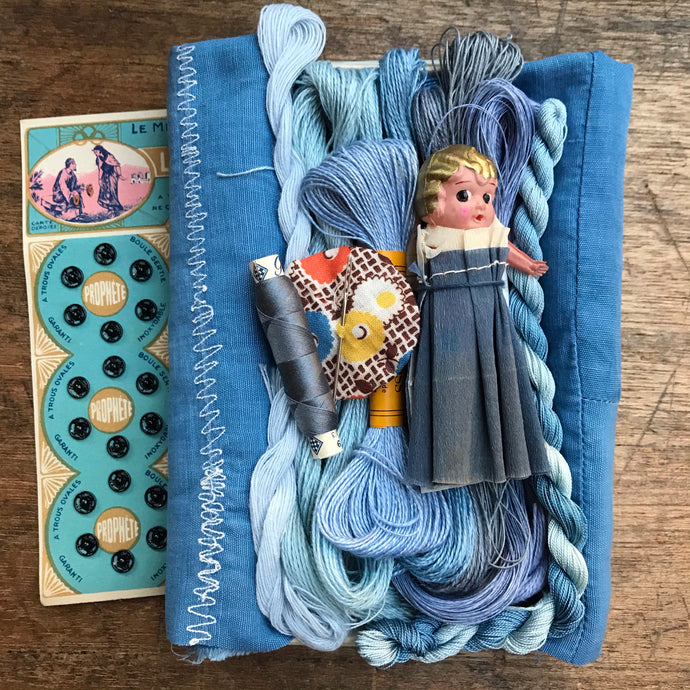 Indigo Treasure Box #4