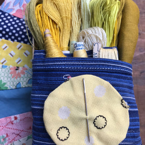Flaxen Yellow Treasure Box #11
