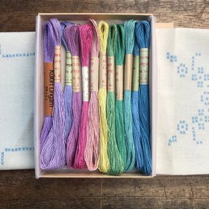 Pastel Nordiska - 1960's embroidery linen thread