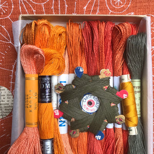 Rust/Orange - Lyster Thread Collection #3