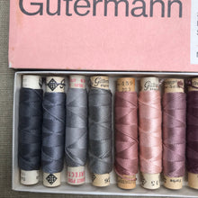 Load image into Gallery viewer, Vintage Gutermann Silk - 12 spools in original box