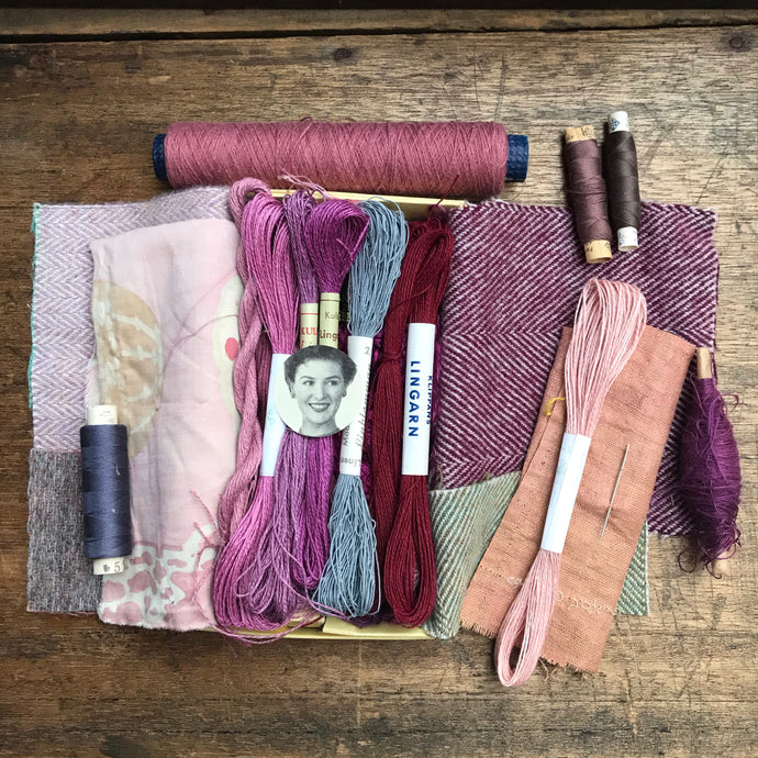 Tweed Rosa Treasure Box #3