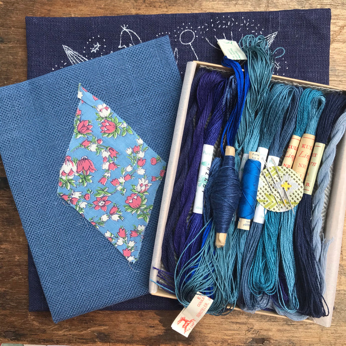 Whimsical Blue - Lyster Thread Collection